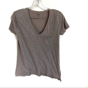 3 for $25 Madewell Knit V Neck Tee